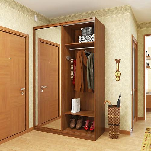 Шкафы-купе для прихожей - домкомплект.